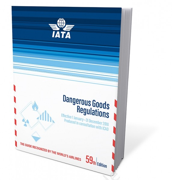 IATA Dangerous Goods Regulations, 59th Edition 2018, Buchausgabe englisch
